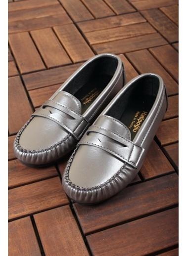 Oksit Ayakkabı Gümüş